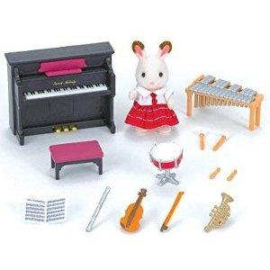 $12.75 原价$19.99Calico Critters  森贝尔家族学校乐器演奏系列
