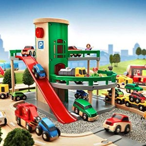 BRIO World - 33204 Parking Garage | Railway Accessory with Toy Cars for Kids @ Amazon