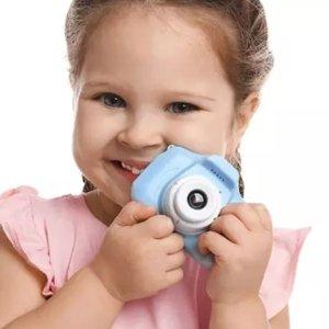 低至1.6折 仅€10.98儿童防摔相机热卖 操作超简单 宝宝也可以当小小摄影师