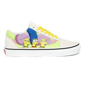 Old Skool The Simpsons x Vans 滑板鞋