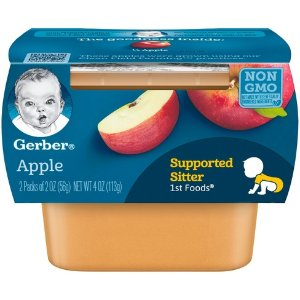 Gerber 1st Foods Baby Food Apple - 2oz (2ct) : Target