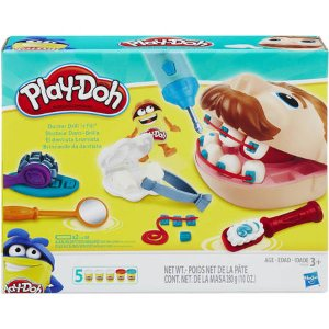 Play-Doh Doctor Drill 'N Fill Set with 5 Cans of Dough - Walmart.com