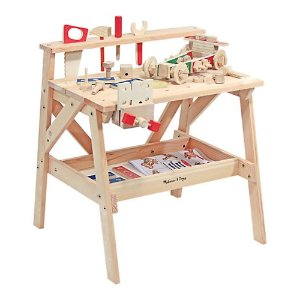 木质儿童工具台