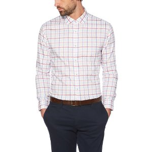 Original PenguinRED PLAID DRESS SHIRT