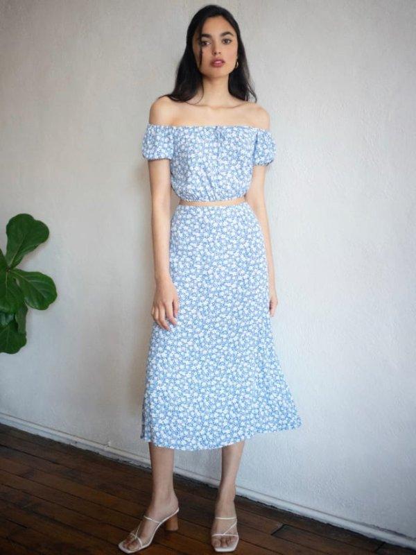 假两件连衣裙