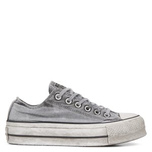ConverseChuck TaylorAll Star Lift Smoked Canvas Low Top