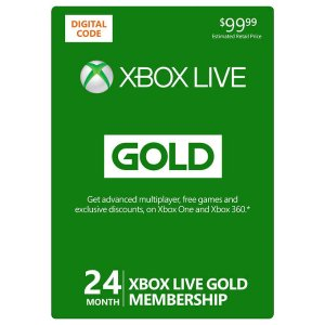 XBOX Live 24-Month Gold Membership Digital Download