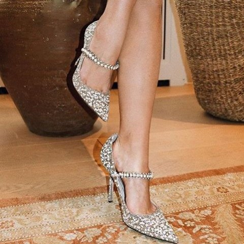 低至4折 $418收水晶鞋Jimmy choo鞋类专场 经典高跟鞋,平底鞋都有