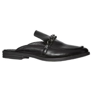 Black & Chrome Tone 平底鞋