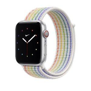 Apple40mm/44mm 双尺寸可选彩虹版 Nike 回环式运动表带