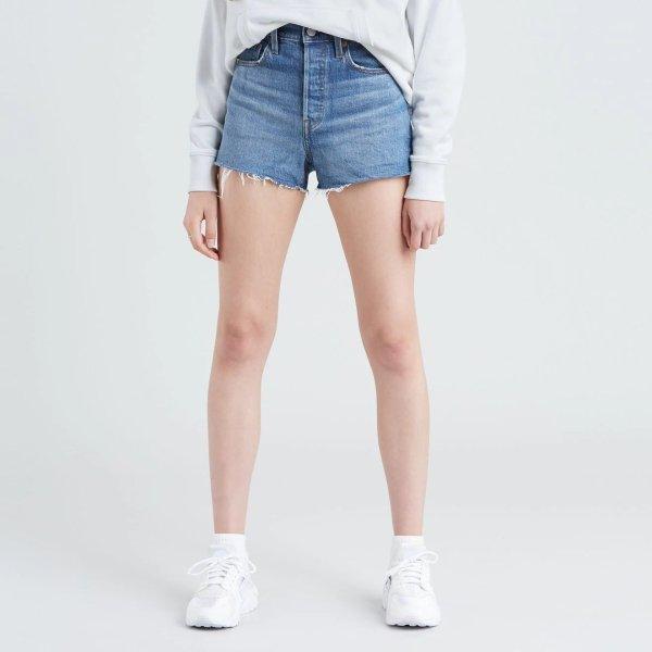 501® 高腰牛仔短裤
