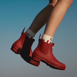 低至5折 低筒雨靴仅€45Hunter 精选雨靴、雨衣、雨具热卖 英国皇家御用品牌