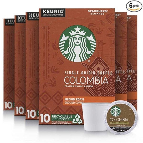 哥伦比亚中焙 K-Cup咖啡胶囊 60颗