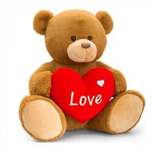 Keel Toys 棕色亨利熊公仔 - 35cm