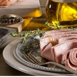 $6.27(原价$7.49)Rio Mare 橄榄油浸金枪鱼罐头3个装 健康沙拉、美味pizza随心做
