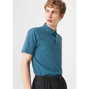 MangoCotton basic polo shirt - Men | OUTLET USA