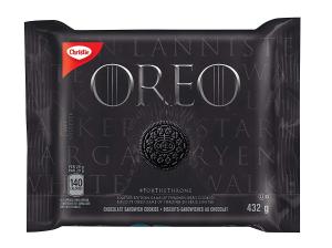$4.99(原价$16.25)补货:Oreo 奥利奥夹心饼干 权力的游戏特别限定版 奥利奥荣登铁王座