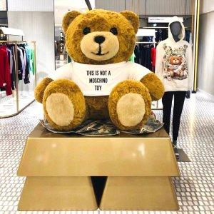 额外7折YOOX Moschino 小熊美包专场热卖