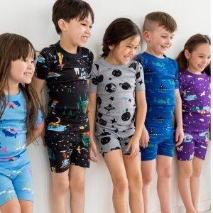 $25起 新用户额外8折Hanna Andersson 儿童有机棉睡衣一日闪购 适合皮肤敏感孩子