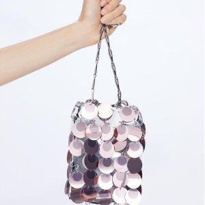 定价优势+低至8折Paco Rabanne 小众金属包 不可穿系列