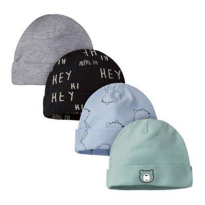 宝宝帽子4件套