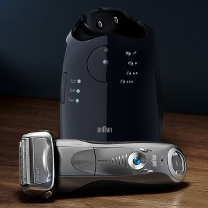 BraunSeries 7 7865cc ($40 in Rebates Available) Men's Electric Foil Shaver, Wet and Dry Razor with Clean & Charge Station