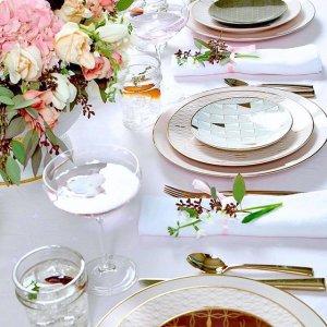 额外8折Lenox 全场餐具一日大促 收爆款蝶舞花香