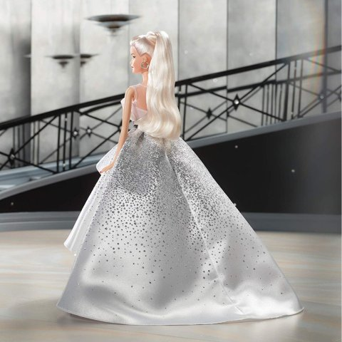 8.6折 多款可选Barbie 60周年纪念版娃娃热卖 绝美礼服版一定要收藏