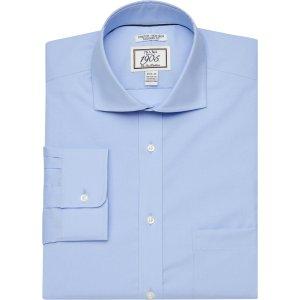 Jos A Bank3for$791905 Collection Tailored Fit Cutaway Collar Dress Shirt - Men's Pink Apparel | Jos A Bank
