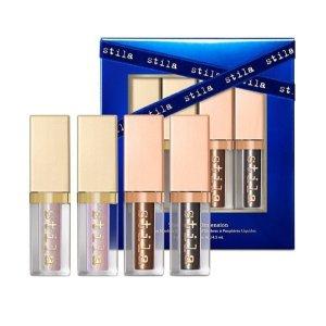 正价产品5折+特价产品额外7.5折Stila官网 节日限定美妆套装及彩妆盘超值热卖
