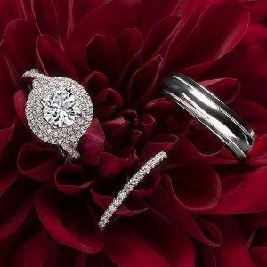 8.5折 全年戒指最低价Blue Nile 官网精选精美结婚戒指热卖