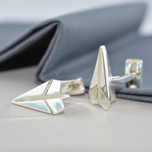 Lily charmed纸飞机耳钉