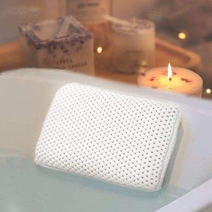 $12.98(原价$16.98)Hankey 带吸盘防滑水疗枕 让泡澡时光更加放松舒服