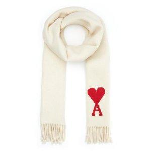 Ami羊毛围巾