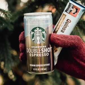 冷萃咖啡$12.21 Doubleshot 仅$14.52Starbucks 玻璃瓶装冷萃咖啡等饮料特卖