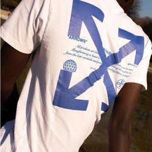 无门槛7折 Off White T恤$169收提前享:Base Blu 大牌鞋包潮衣专场 Burberry围巾$254