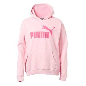PUMA Girls' Number 1 Logo Fleece Hoodie
