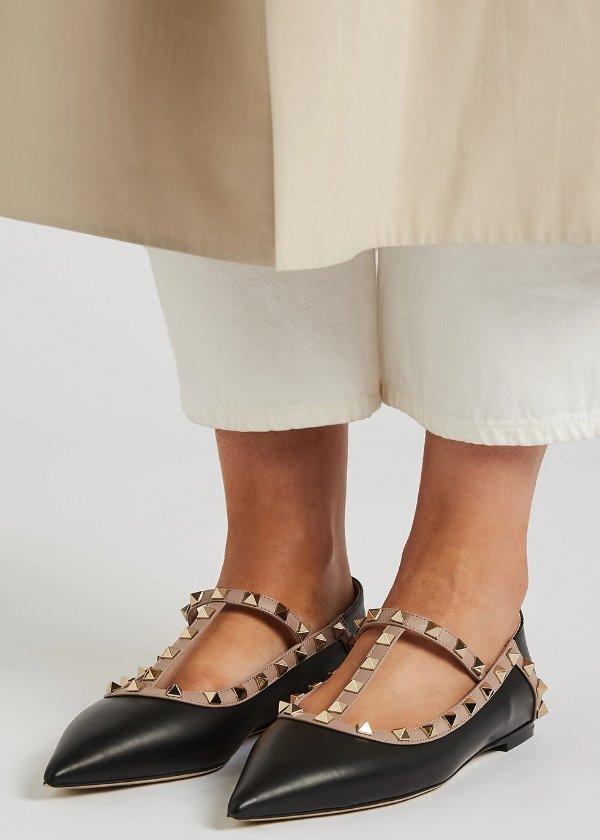 铆钉平底鞋