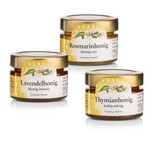150g×3套装仅€8.78 送人佳品Sanct Bernhard 圣伯纳德天然蜂蜜 你没尝过的特殊花香蜂蜜