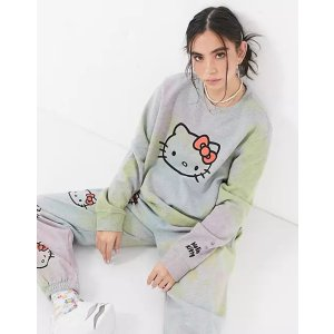 70% 棉x Hello Kitty -卫衣