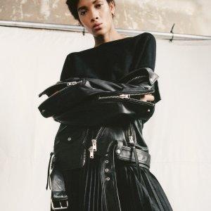 一律8.5折 最新款£257上新:AllSaints 新季皮衣惊艳上市 简约酷潮 最佳皮衣这里收