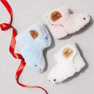 5折起 封面款仅$41.90手慢无:Sorel 北极熊 冬季小鲜肉童靴 半价特卖会 码全