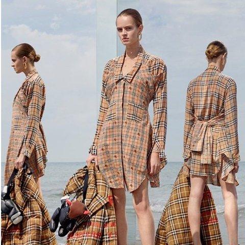 无门槛9折 持续断货中 T恤£315 最新包包£1179Burberry 新款也闪促 收最新包包、衬衫、大衣 享高端英伦时尚之美