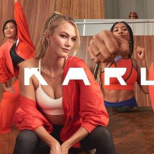 跟超模小KK一起 运动内衣£35上新:adidas x Karlie Kloss 联名款运动服饰 闪亮上新