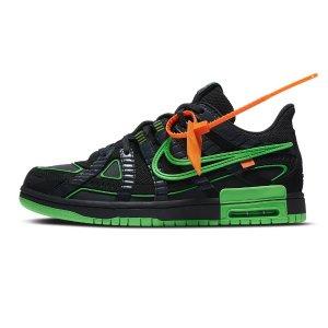 """10月1日 $180+ Free ShippingComing Soon: Off-White™ x Nike Air Rubber DunK """"Green Strike"""""""