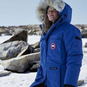 满额7.5折 派克羽绒服£589就收即将截止:Canada Goose 独家超强好折惊现 冬日必备大鹅!