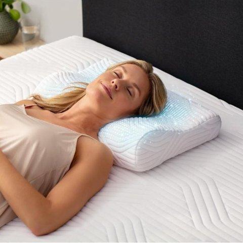 6折! €78就收枕头中的爱马仕Tempur 乳胶记忆枕 回弹慢 感温设计 拯救你的颈椎和富贵包