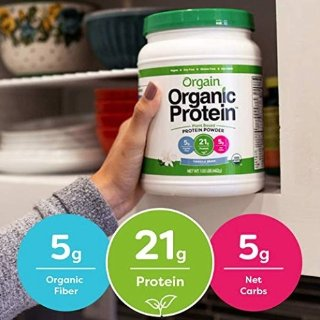 $19.22($24.22)Orgain Organic Plant Based Protein Powder, Vanilla Bean