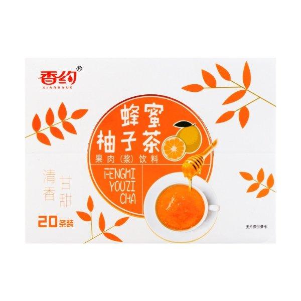 香约 蜂蜜柚子茶 盒装 20包入 700g