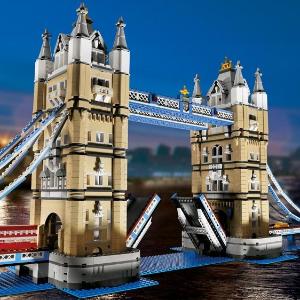 今日秒杀¥1999Lego 创意百变高手系列 伦敦塔桥10214 情人节好礼